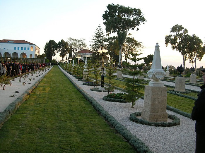 Хайфа, Бахайские сады 21831