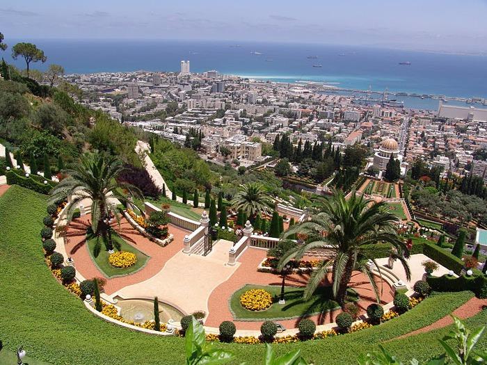 Хайфа, Бахайские сады 47298