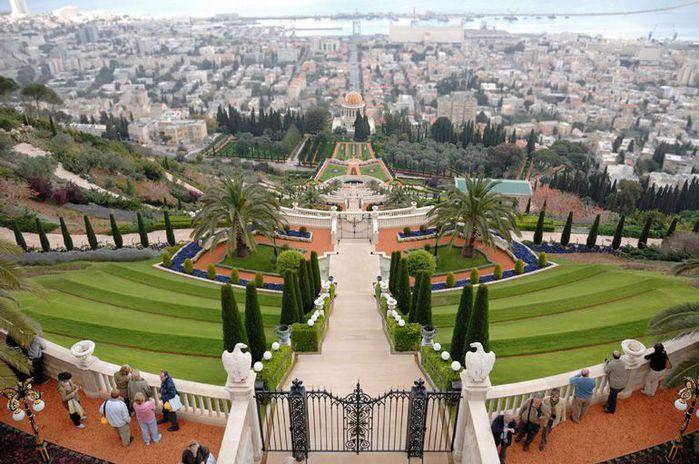 Хайфа, Бахайские сады 26155