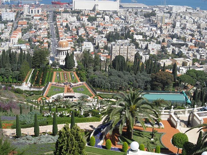Хайфа, Бахайские сады 24898