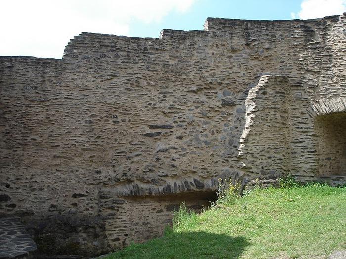 Le chateau de Bourscheid - ЗАМОК Буршейд 65297