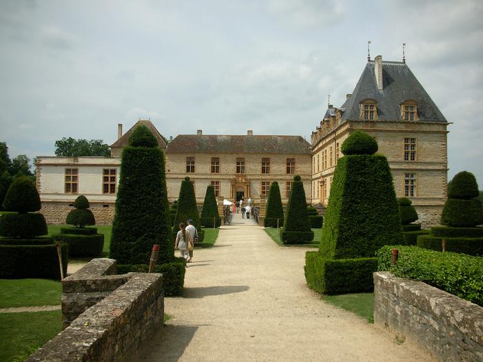 Замок де Корматэн -Chateau de Cormatin 97236