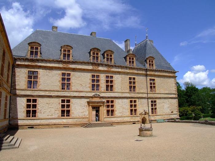 Замок де Корматэн -Chateau de Cormatin 62562