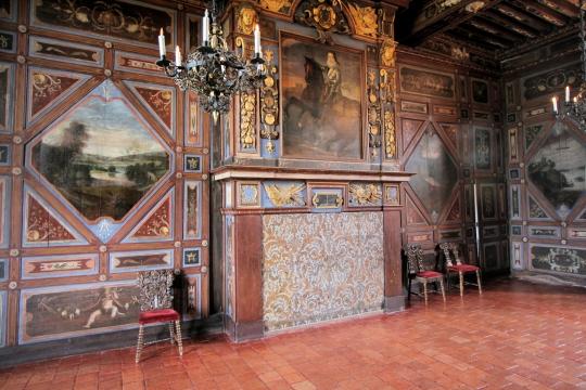 Замок де Корматэн -Chateau de Cormatin 56652