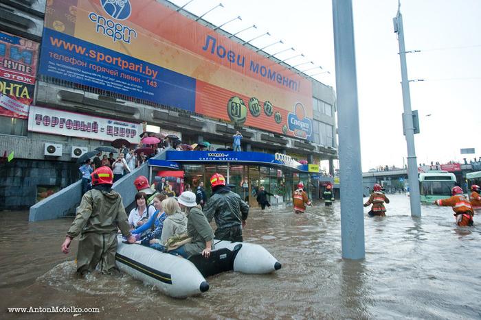 наводнение в минске