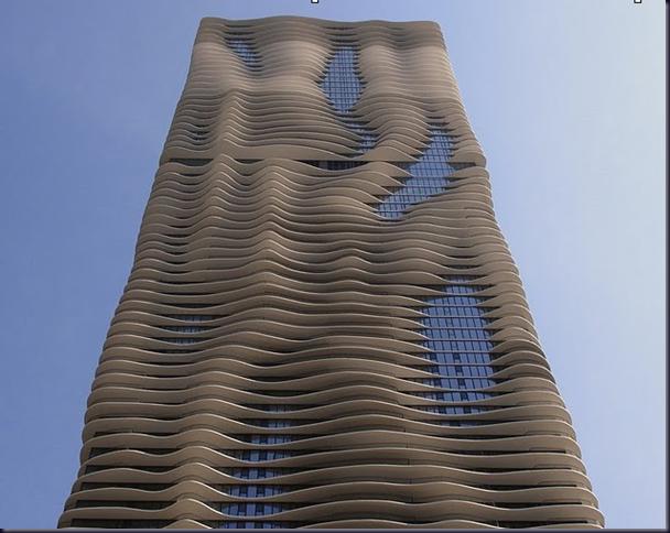 Новая Водная Башня (Aqua Tower) в Чикаго