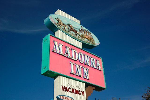 Отель Madonna Inn - Фантазии без границ 11326