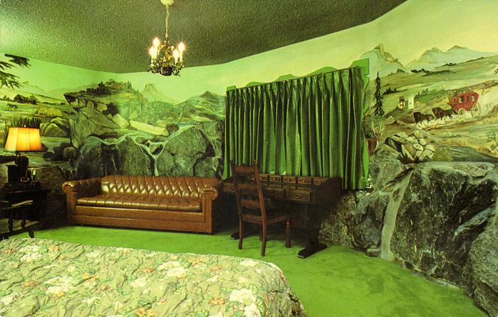 Отель Madonna Inn - Фантазии без границ 56153