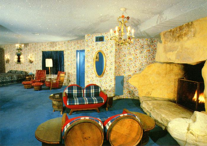 Отель Madonna Inn - Фантазии без границ 55817