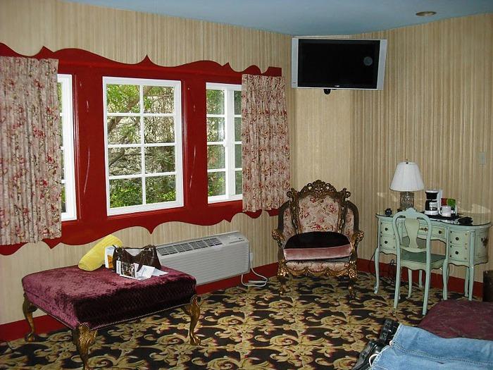 Отель Madonna Inn - Фантазии без границ 88135