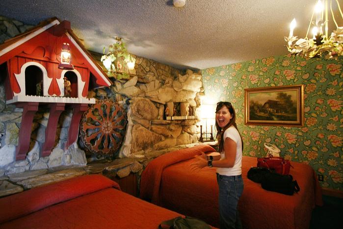 Отель Madonna Inn - Фантазии без границ 81272