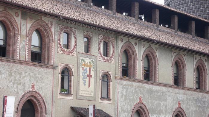 Замок Сфорца (Castello Sforzesco) 70259