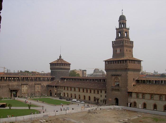Замок Сфорца (Castello Sforzesco) 96279