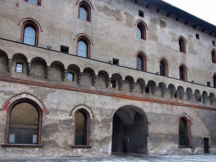 Замок Сфорца (Castello Sforzesco) 16788