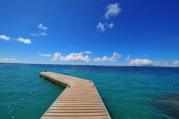 Остров Бора-Бора - жемчужина Тихого океана с перламутровой лагуной 61433