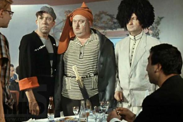 кунаки - кадр из фильма кавказская пленница