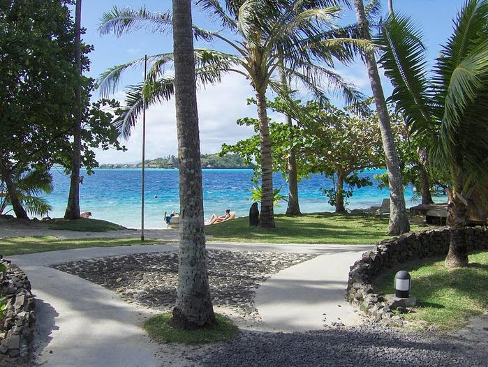 Остров Бора-Бора - жемчужина Тихого океана с перламутровой лагуной 21357