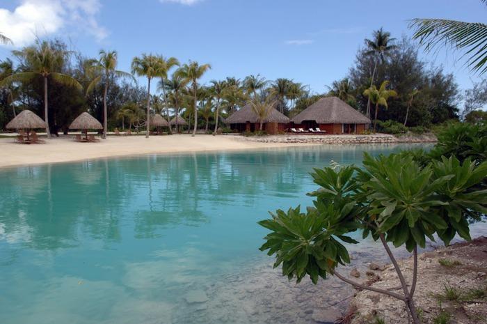 Остров Бора-Бора - жемчужина Тихого океана с перламутровой лагуной 25145