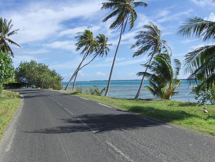 Остров Бора-Бора - жемчужина Тихого океана с перламутровой лагуной 97844