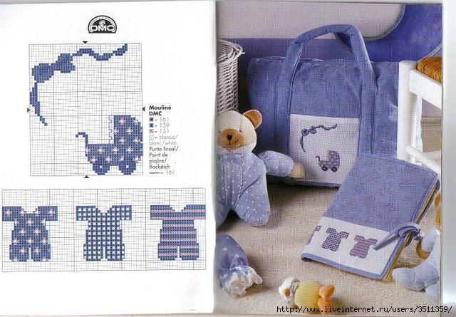Идеи вышивки для детской