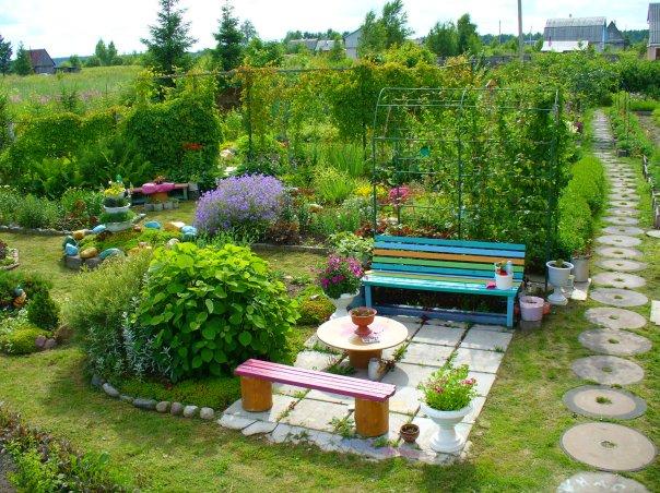 Уроки планирования дизайн сада и огорода своими руками картинки
