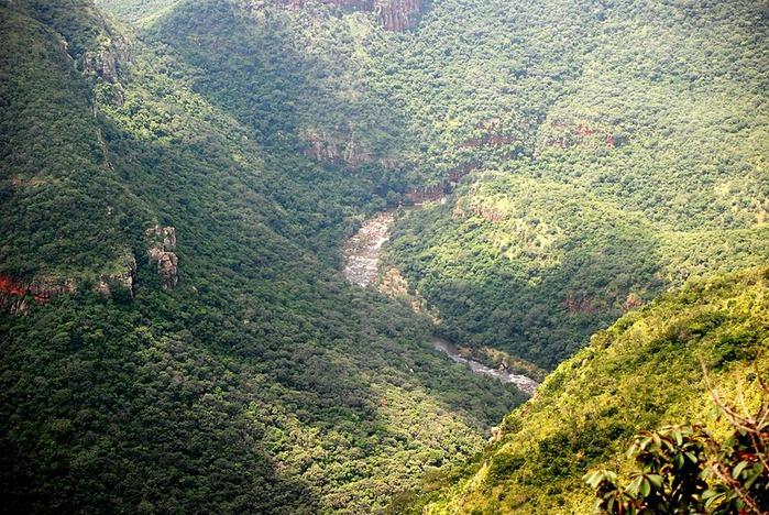 каньон Реки Блайд (Blyde River Canyon) 27678