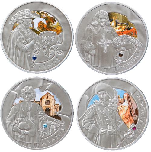 четыре белорусских мушкетера монеты