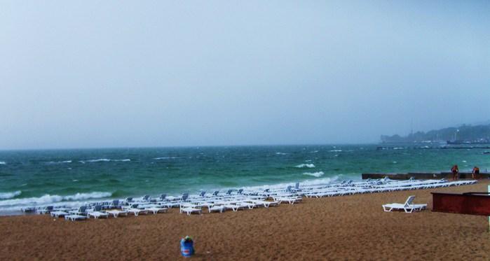 море плохая погода
