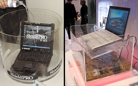 ноутбук который может работать в воде