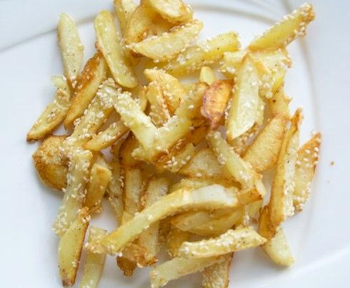 Рецепт полезного картофеля фри