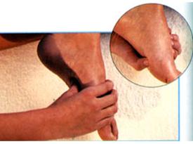 Тонизирующий массаж стоп