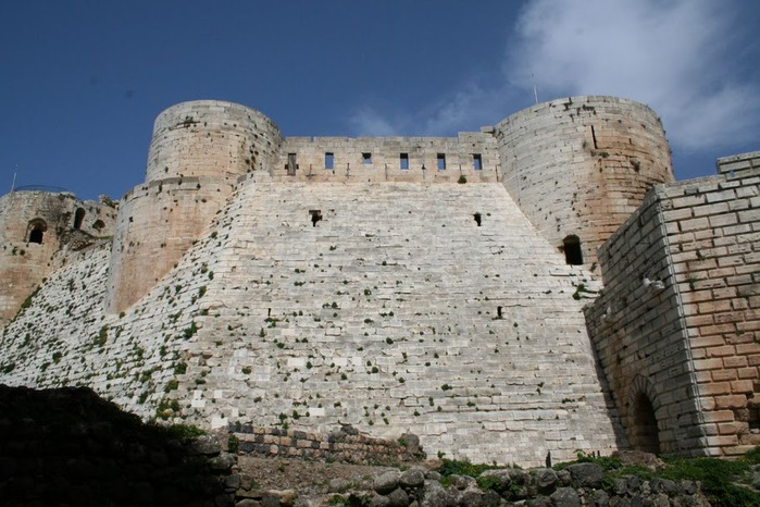 Крепость Крак-де-Шевалье или Крак де л'Оспиталь 16722