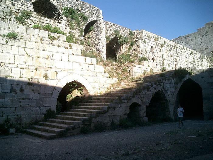 Крепость Крак-де-Шевалье или Крак де л'Оспиталь 40565
