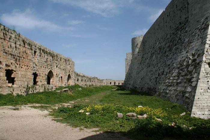Крепость Крак-де-Шевалье или Крак де л'Оспиталь 94500
