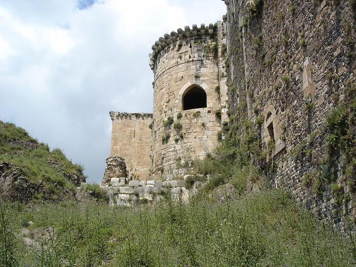 Крепость Крак-де-Шевалье или Крак де л'Оспиталь 12538