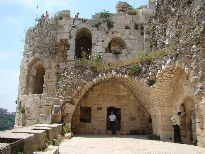 Крепость Крак-де-Шевалье или Крак де л'Оспиталь 29813