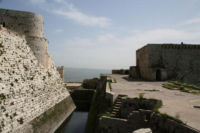 Крепость Крак-де-Шевалье или Крак де л'Оспиталь 92045