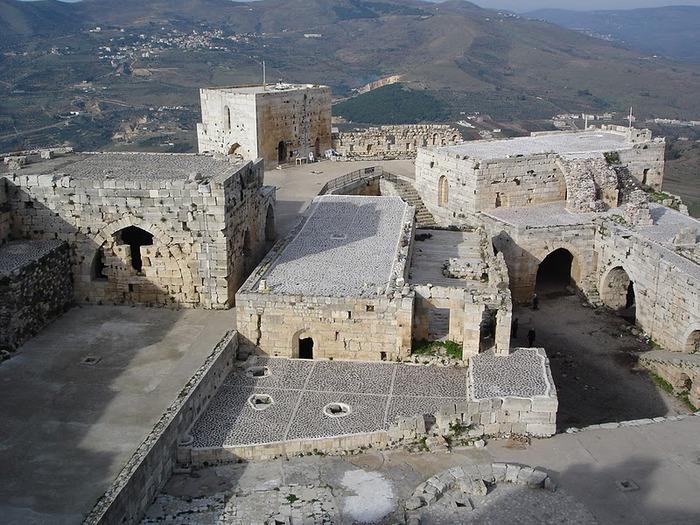 Крепость Крак-де-Шевалье или Крак де л'Оспиталь 71932
