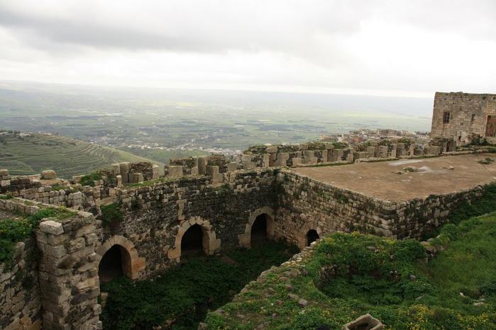 Крепость Крак-де-Шевалье или Крак де л'Оспиталь 44547
