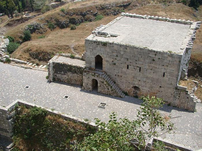 Крепость Крак-де-Шевалье или Крак де л'Оспиталь 28924