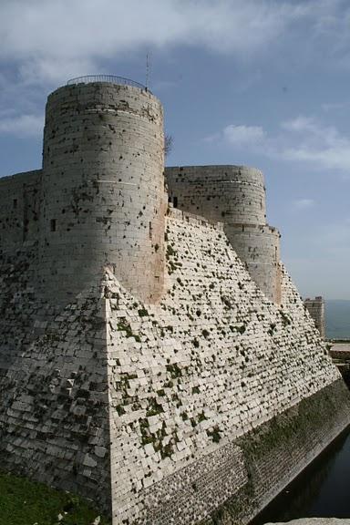 Крепость Крак-де-Шевалье или Крак де л'Оспиталь 97883
