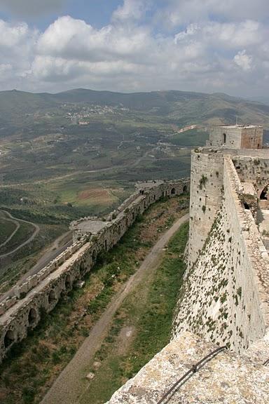 Крепость Крак-де-Шевалье или Крак де л'Оспиталь 83929