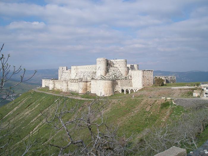 Крепость Крак-де-Шевалье или Крак де л'Оспиталь 33080