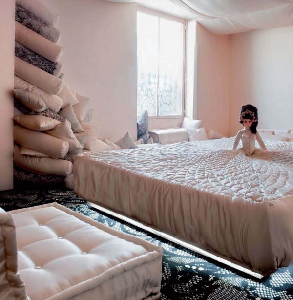 Интерьер квартиры от Жана-Поля Готье