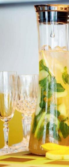 5 рецептов освежающих коктейлей!