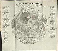 карта луны 1939 года от картографов германии