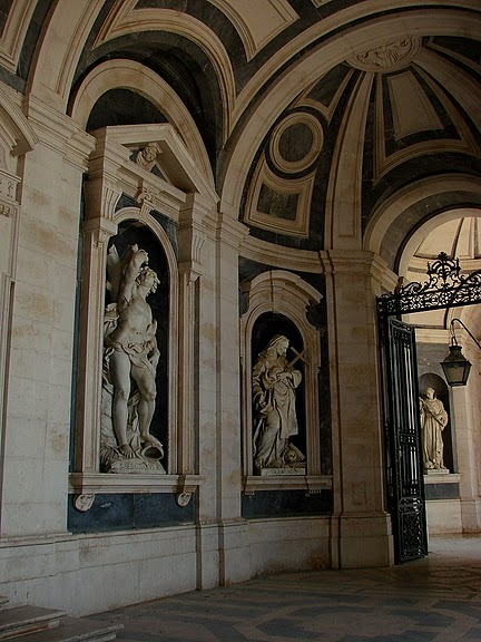 Дворец-монастырь да Мафра (Марфа, Португалия) 82662