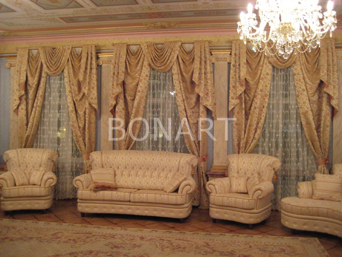 Шторы для гостиной фото луганск
