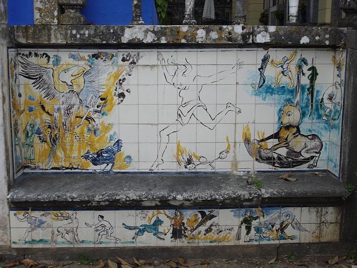 Дворец Маркизов Фронтейра (Palacio dos Marqueses de Fronteira) 72979