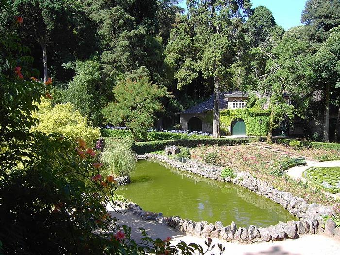 Дворец удовольствий в окружении леса Буссакo 68888